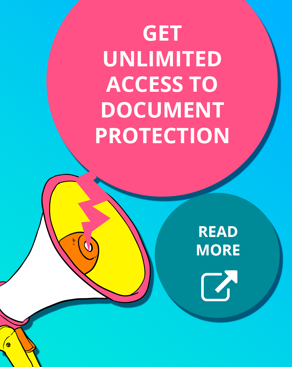 Unlimited access to protect informational products